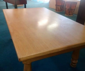 Used Solid Oak Dining Table
