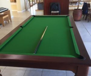 3/4 Wood Snooker Table With Top