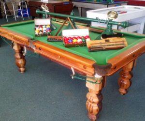 Limited Sleeper Wood Pool Table