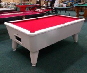 White Gloss Batchelor Pool Table